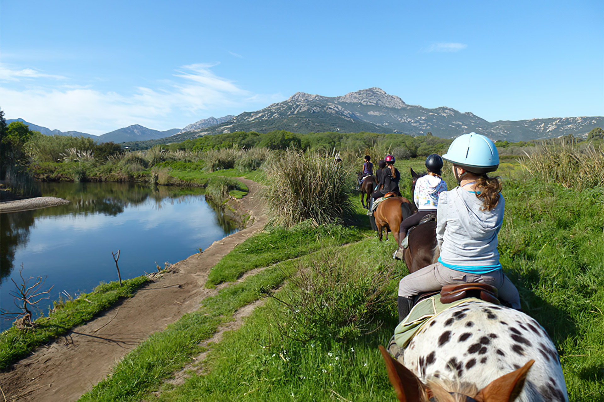 Horse riding excursion package